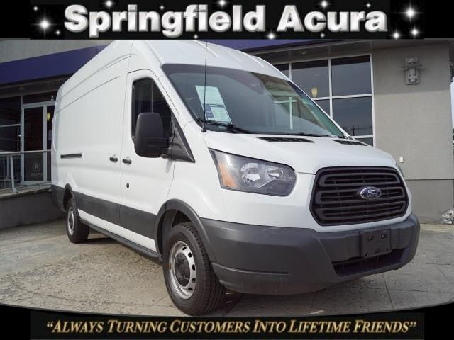 Pre-Owned 2018 Ford Transit T-250 148 EL Hi Rf 9000 GVWR Slidi
