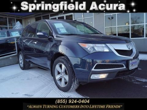 Pre-Owned 2012 Acura MDX AWD 4dr Tech/Entertainment Pkg