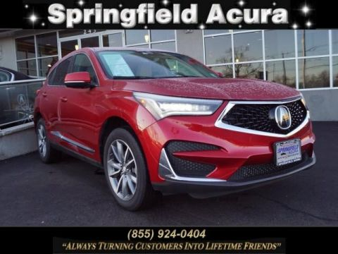 Certified Pre-Owned 2019 Acura RDX SH-AWD with Technology Package